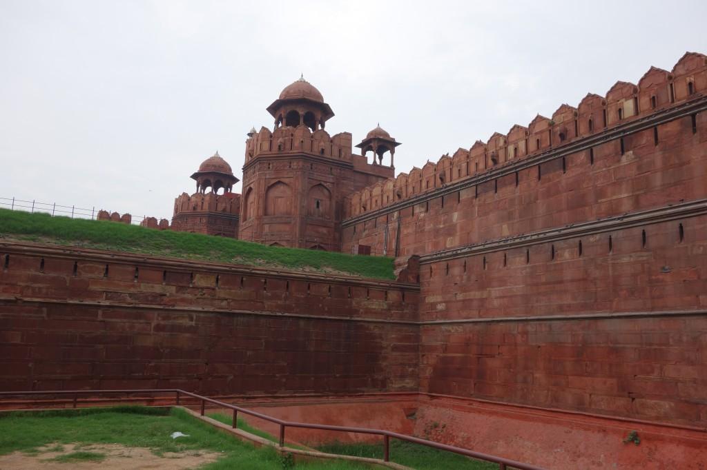 Delhi - Red fort Outside 2