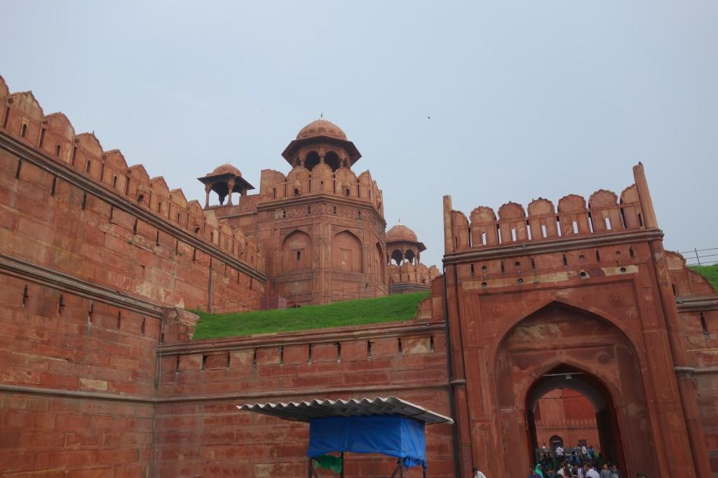Delhi - Red fort Outside Entrance