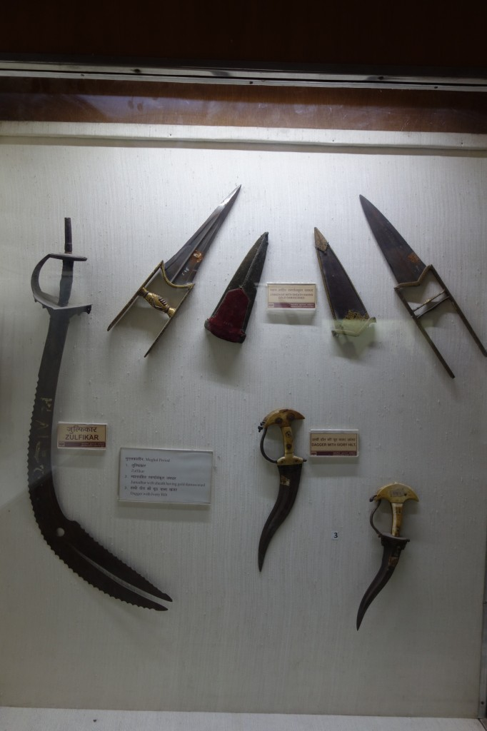 Delhi - red fort weapon 3