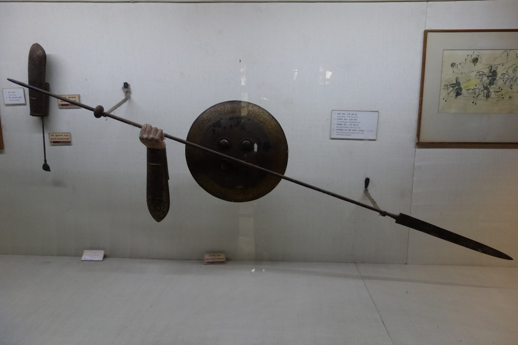 Delhi - red fort weapon 1