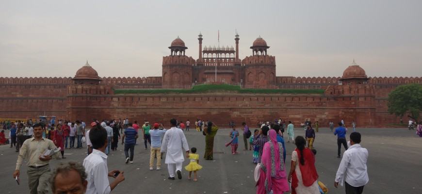 Delhi - Red fort Outside 3